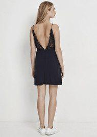 SAMSOE & SAMSOE Ginni Short Dress - Dark Sapphire