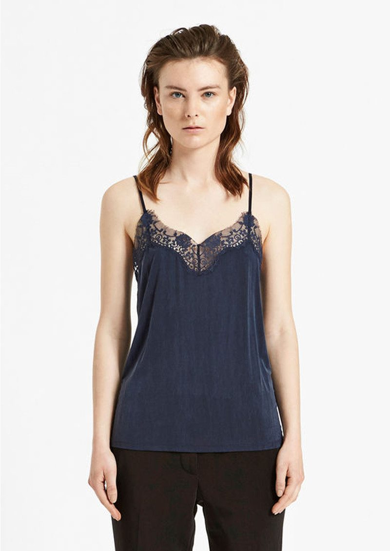 Slip Lace Camisole - Total Eclipse main image