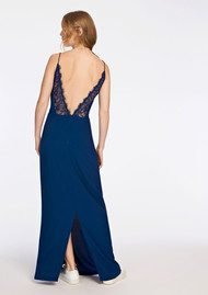 SAMSOE & SAMSOE Ginni Long Dress - Estate Blue