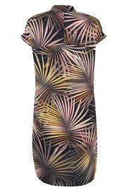 NOOKI Purla Shirt Dress - Palm