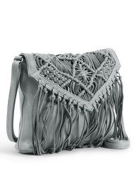 DAY & MOOD Violet Cross Body Bag - Pearl