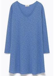 American Vintage Bysapick Cotton Dress - Periwinkle