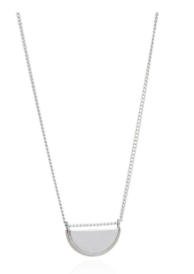 RACHEL JACKSON Half Moon Necklace - Silver main image