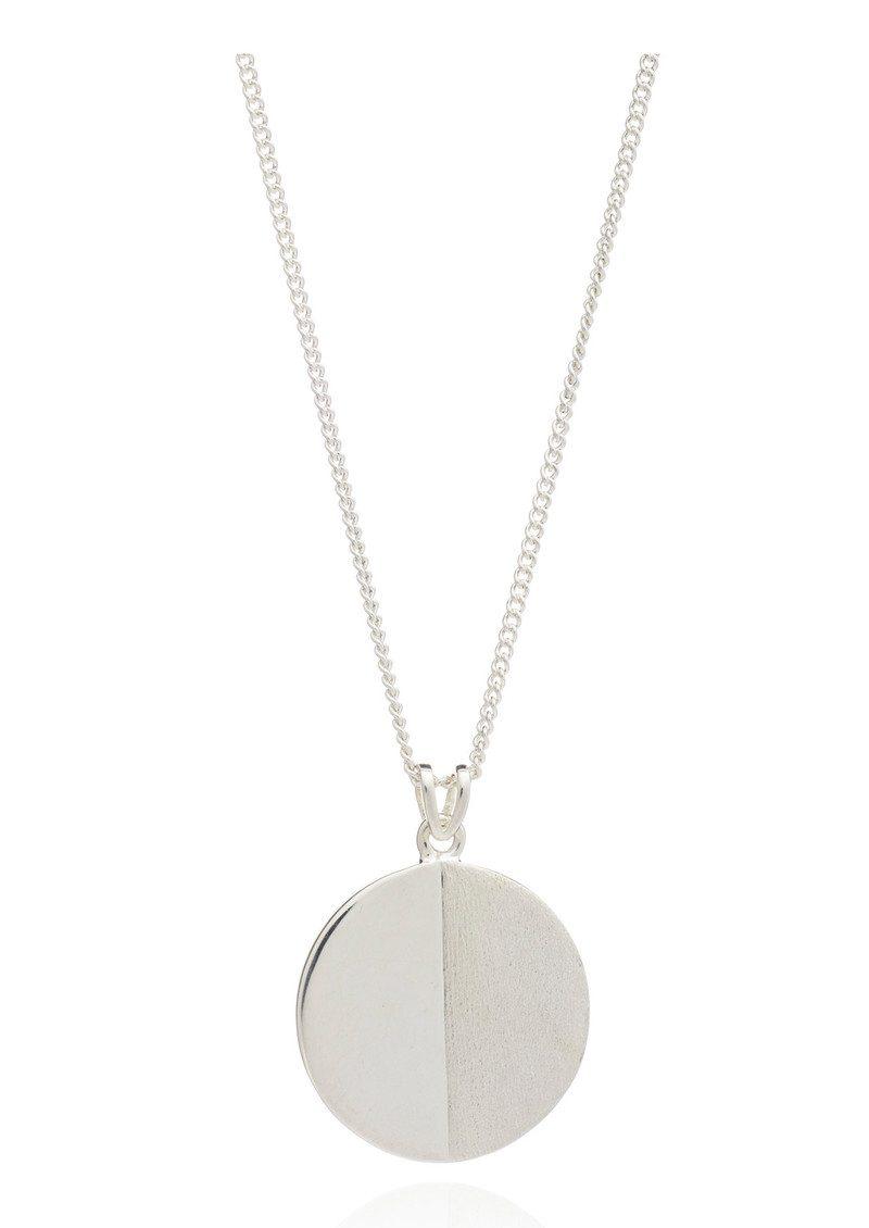 RACHEL JACKSON Lunar Moon Necklace - Silver main image