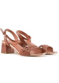 Ash Odelia Strappy Sandals - Rosewood