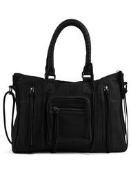 DAY & MOOD Rose Satchel - Black
