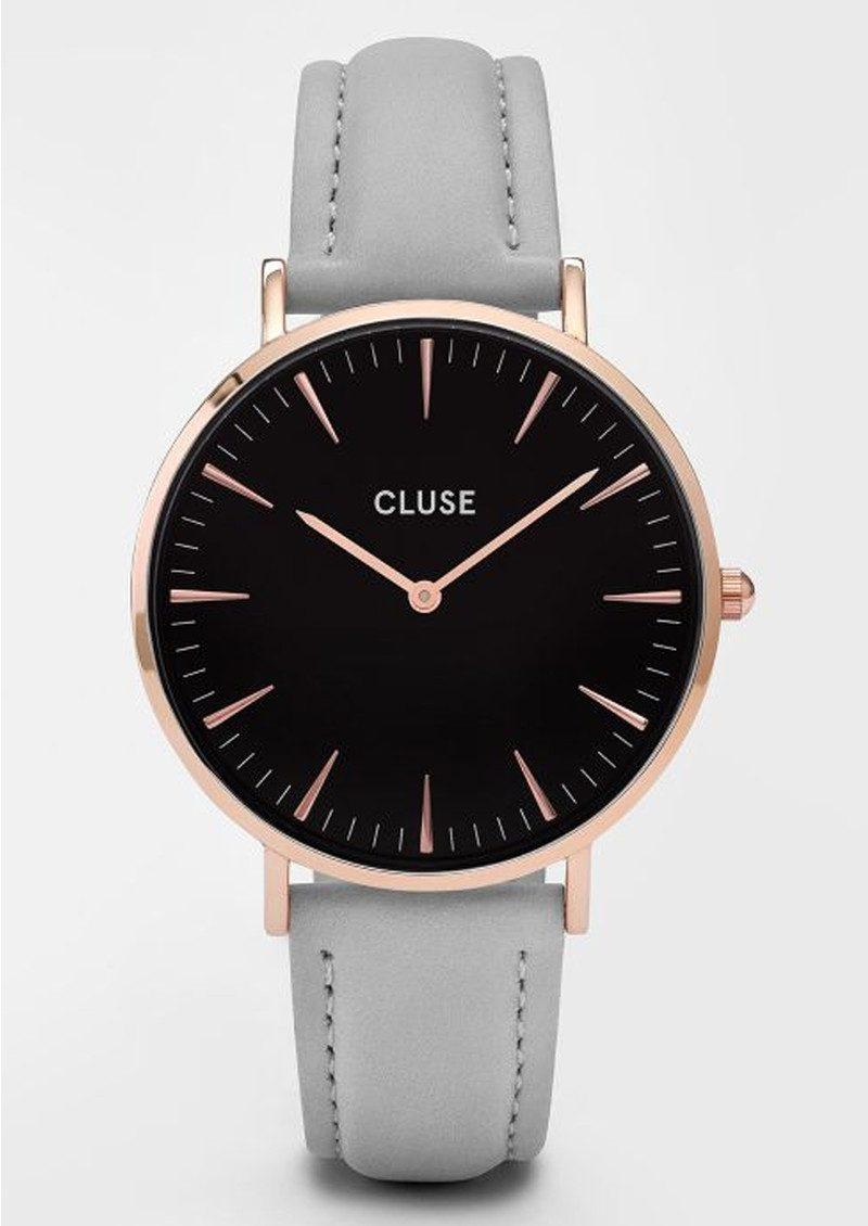 CLUSE La Boheme Rose Gold Watch - Black & Grey main image