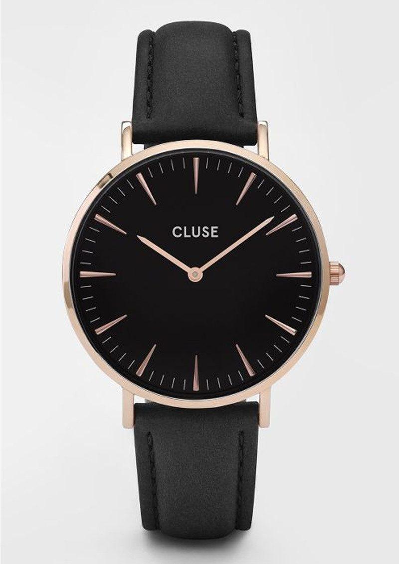 CLUSE La Boheme Rose Gold Watch - Black & Black main image