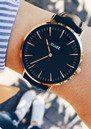 CLUSE La Boheme Rose Gold Watch - Black & Black