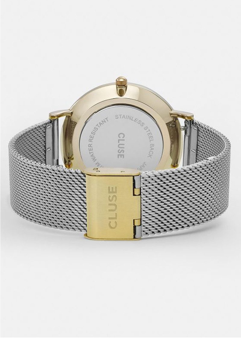 CLUSE La Boheme Mesh Watch - Gold & Silver main image