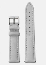 CLUSE La Boheme Leather Strap - Grey & Silver