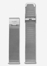CLUSE Minuit Mesh Strap - Silver