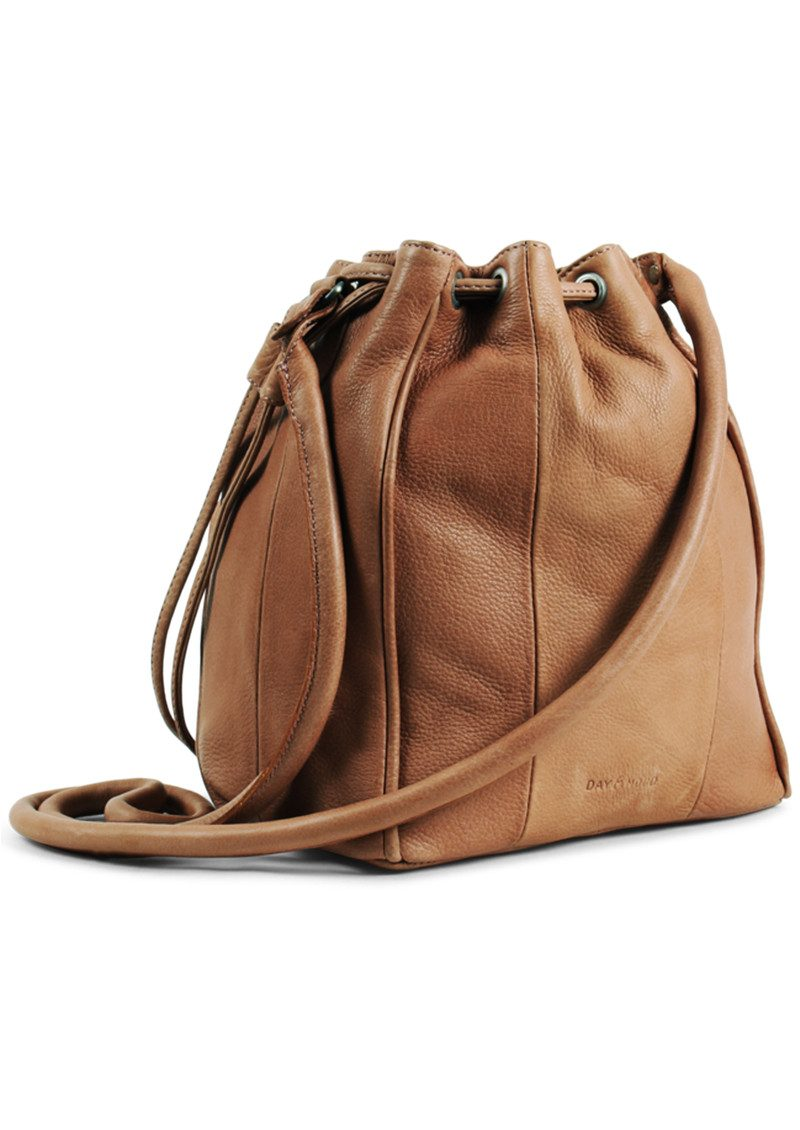 DAY & MOOD Rose Bucket Bag - Cognac main image