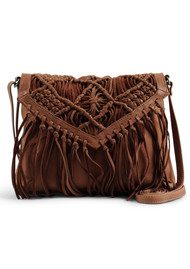 DAY & MOOD Violet Crossbody Bag - Cognac