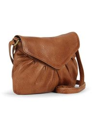 DAY & MOOD Elderflower Crossbody Bag - Cognac