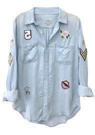 Rails Carter Shirt - Light Vintage Patchwork