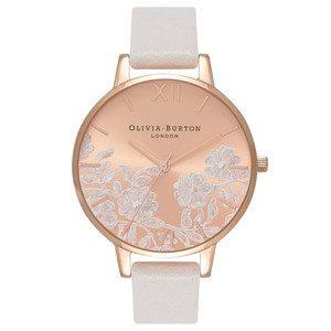 Lace Detail Watch - Blush & Rose Gold