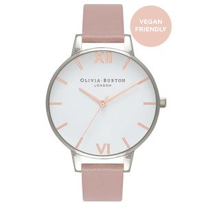 Big Dial Vegan Friendly - Rose Sand & Silver