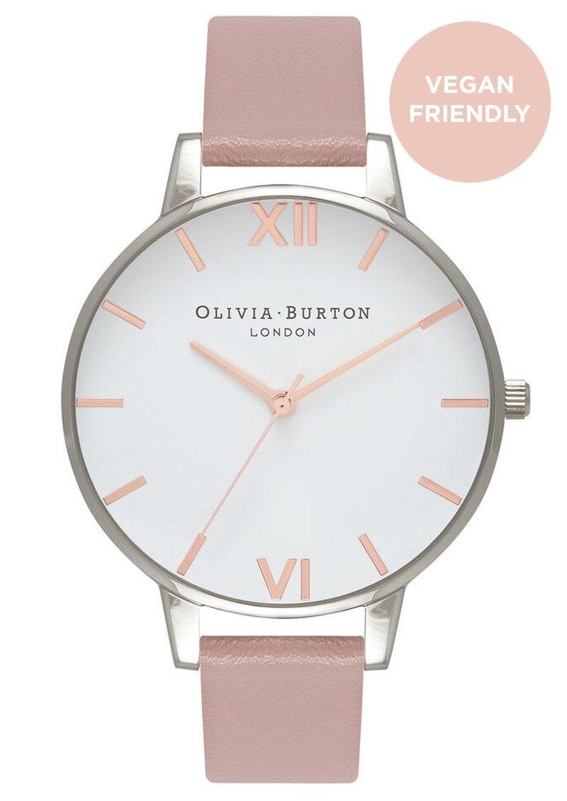 Olivia Burton Big Dial Vegan Friendly - Rose Sand & Silver main image