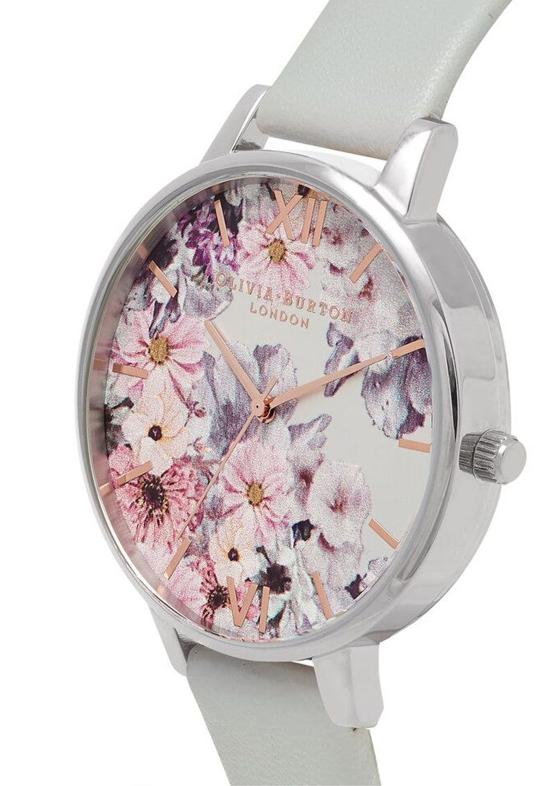 Olivia Burton Vegan Friendly Enchanted Garden Watch - Grey & Silver main image