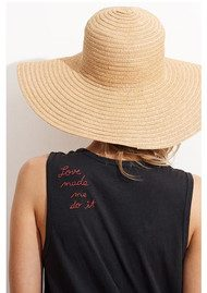 SUNDRY Embroidered Tank Dress - Summer Black