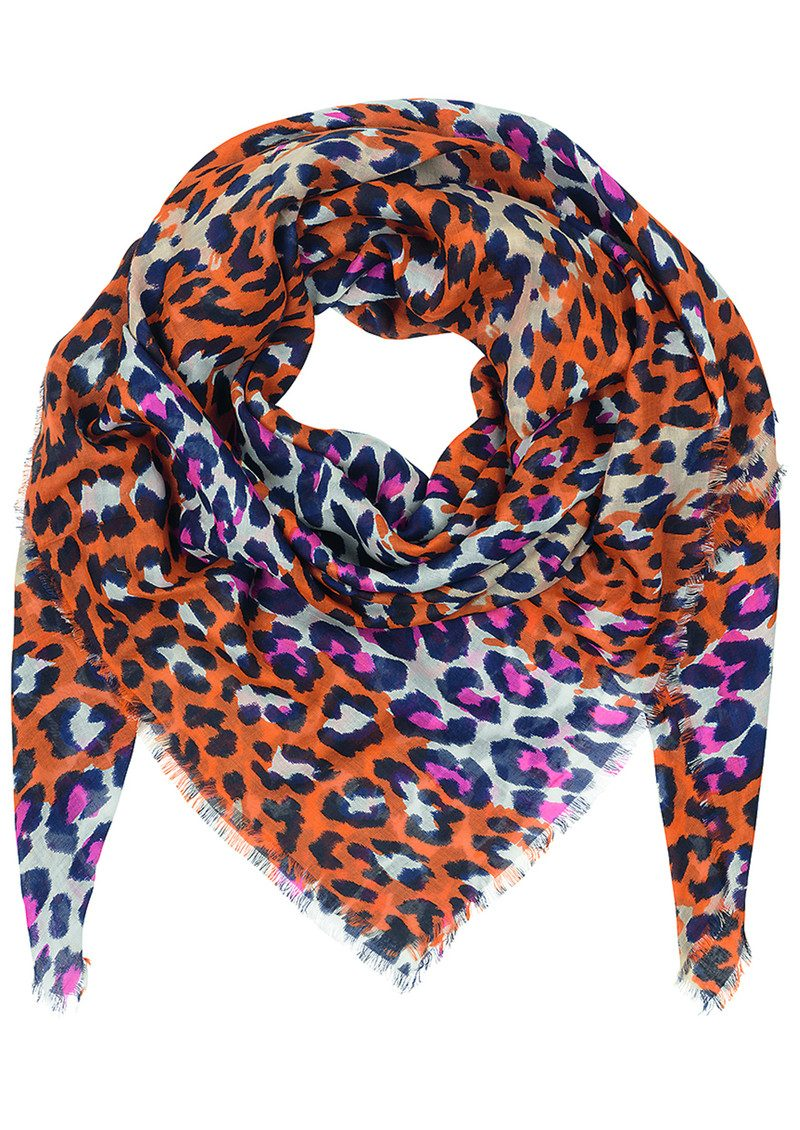 Leopra Scarf - Rouge Red main image