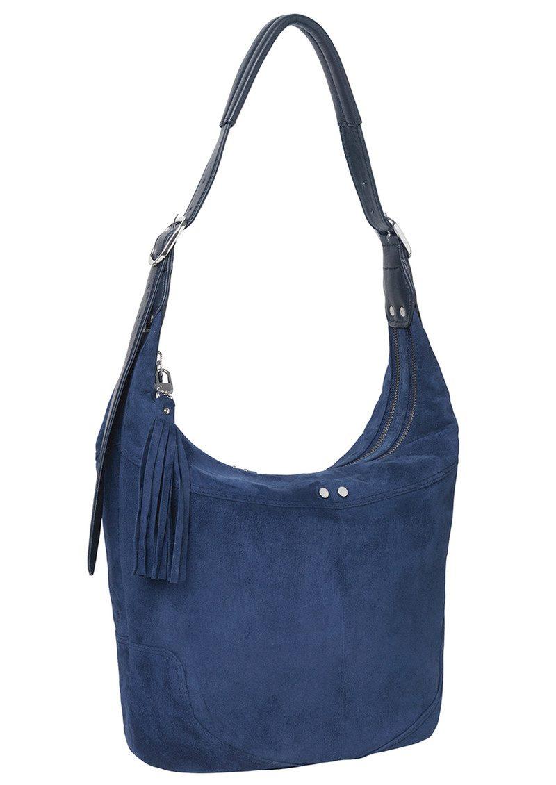 Becksondergaard Ewa Leather Bag - Medieval Blue main image
