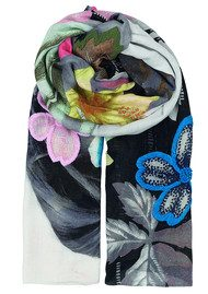 Becksondergaard Lie Embroidered Scarf - Multi