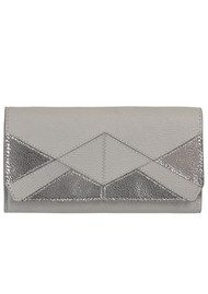 Becksondergaard Sauval Leather Purse - Chateau Grey