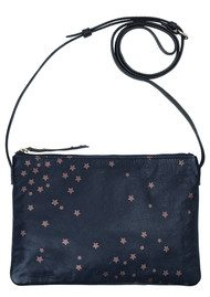 Becksondergaard Hepu Stars Leather Bag - Medieval Blue