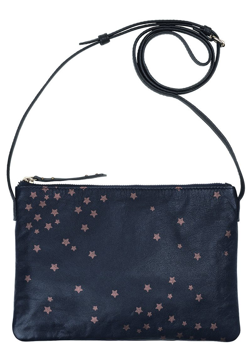 Becksondergaard Hepu Stars Leather Bag - Medieval Blue main image