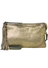Becksondergaard Haiku Metallic Leather Bag - Burnt Olive