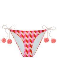 HEIDI KLEIN Sophie Anderson Rosario Tie Side Bikini Bottoms - Pink