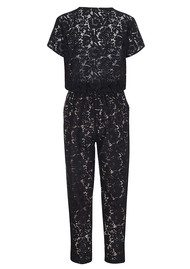 CUSTOMMADE Malle Lace Jumpsuit - Anthracite Black