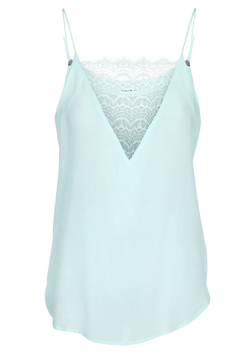 Elvira Lace Camisole - Ether Blue main image