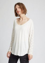 Great Plains Mix A Lot T-Shirt - Latte Cream