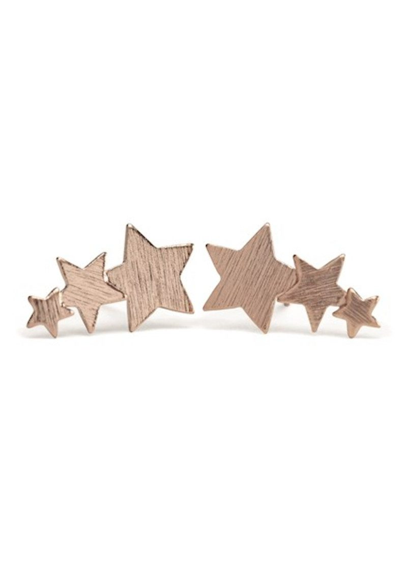 PERNILLE CORYDON Shooting Star Earrings - Rose Gold main image