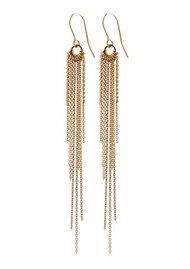 PERNILLE CORYDON Rain Hook Earrings - Gold