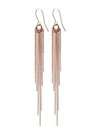 PERNILLE CORYDON Rain Hook Earrings - Rose Gold