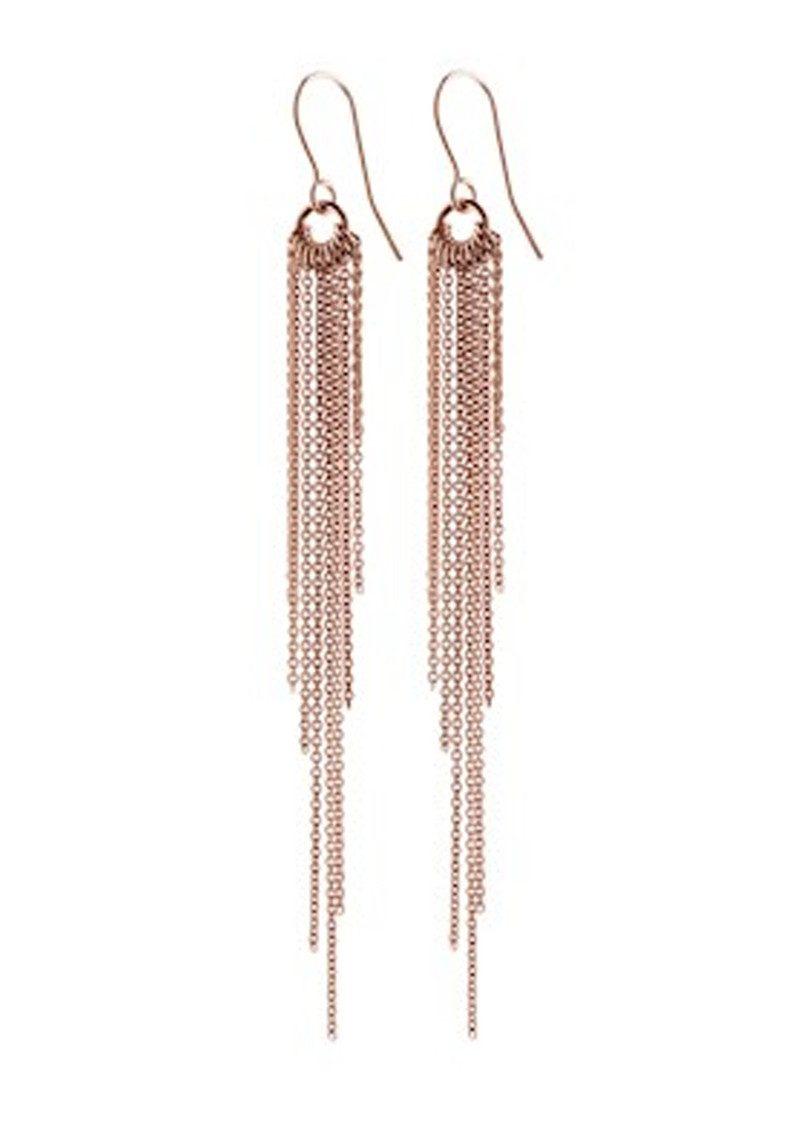 PERNILLE CORYDON Rain Hook Earrings - Rose Gold main image
