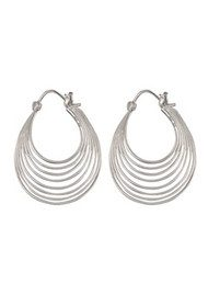 PERNILLE CORYDON Silhouette Earrings - Silver