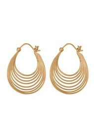 PERNILLE CORYDON Silhouette Earrings - Gold