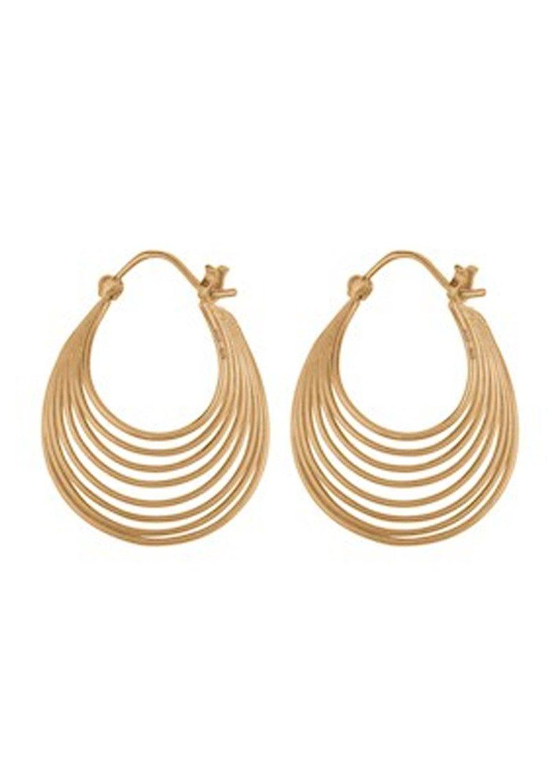 PERNILLE CORYDON Silhouette Earrings - Gold main image