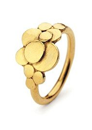 PERNILLE CORYDON Multi Coin Ring - Gold