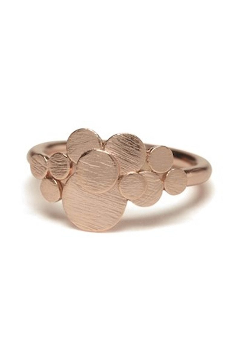 PERNILLE CORYDON Multi Coin Ring - Rose Gold main image