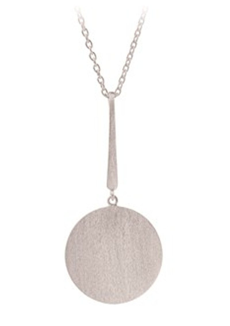 PERNILLE CORYDON Long Coin Necklace - Silver main image