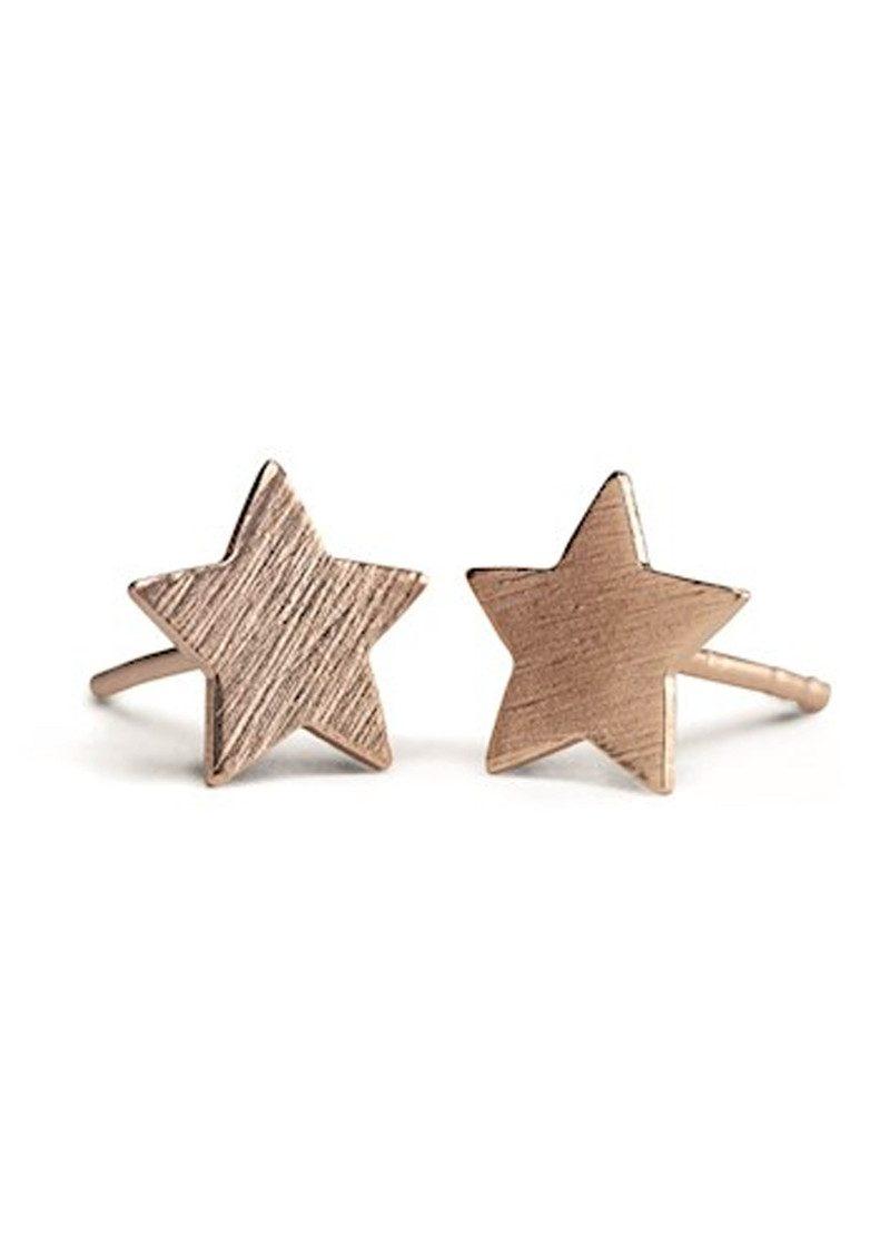 PERNILLE CORYDON Medium Star Earrings - Rose Gold main image