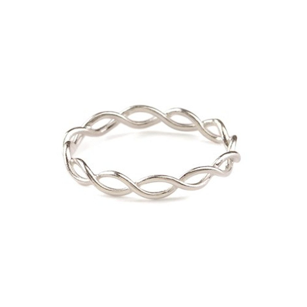 Entangled Ring - Silver