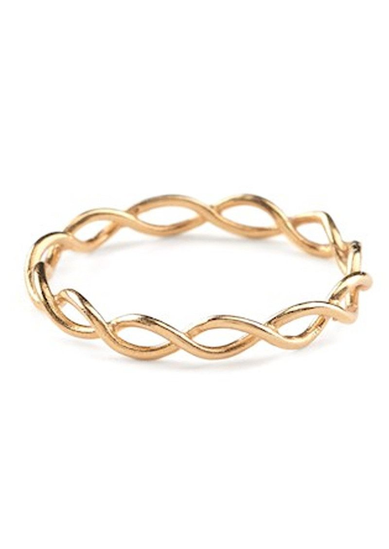 PERNILLE CORYDON Entangled Ring - Gold main image