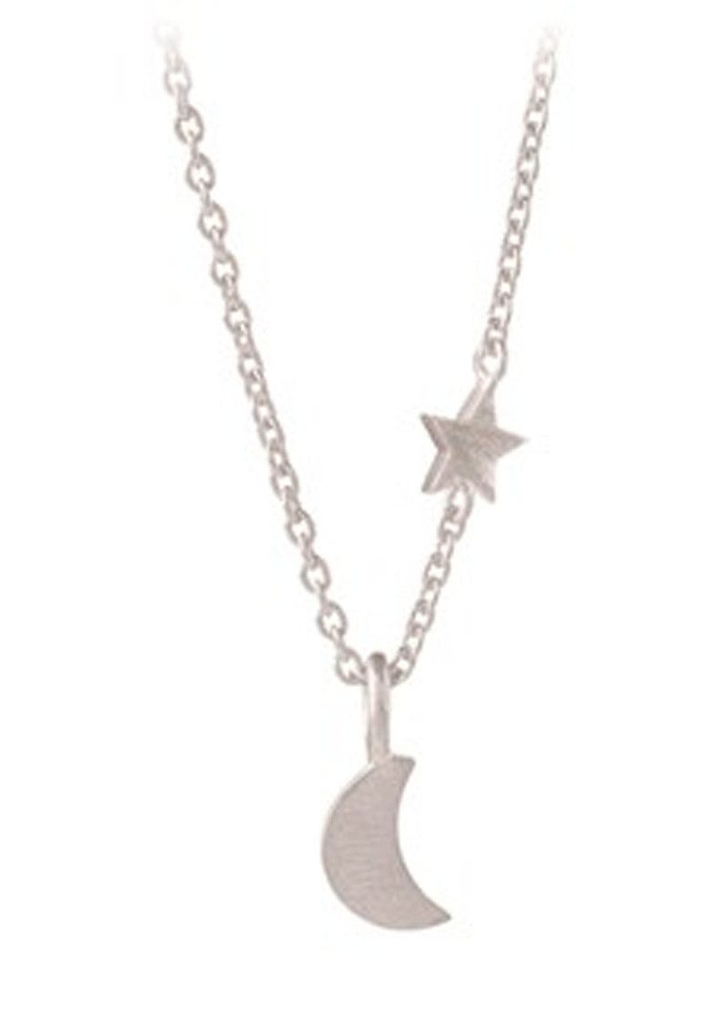 Luna Star Necklace - Silver main image